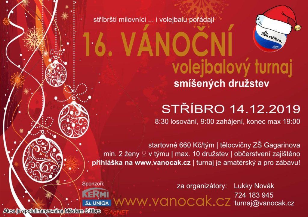 Pozvánka Vánočák Stříbro 2019